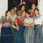 Guatemalan Women Dressed in Traditional Mayan 'Traje'