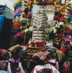 Guatemalan Women Celebrating Holy Week, or 'Semana Santa'