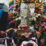 Guatemalan Women Celebrating Holy Week, or 'Semana Santa'